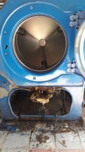 งานซ่อมบำรุงเครื่องซักผ้าอุตสาหกรรม